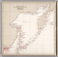 Okhotsk Sea Region, Index Chart for Ice Data Tables.