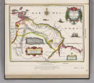 (Facsimile) Blaeuw - 1640. S. Doc 91 55 2. 27. Reproduced by Photo-Lithography from the Original, British Museum, 4 Table 9, plate 120. Map of Guiana by William Blaeuw, Amsterdam, 1640. Reproduced from Copy (in British Blue Book, Venezuela No. 1, [1896] Appendix, No. III, Map No. 2.) Lith. by A. Hoen & Co., Baltimore, MD.