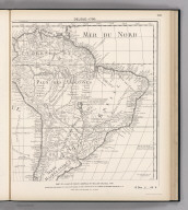 (Facsimile) Delisle - 1700. S Doc 9a 55 2. Part of a Map of South America by William Delisle, 1700. Reproduced from Original (in a Collection Marked Old Maps of America, Map No. 6) in the Library of Congress, Washington, D.C. Photo.Lith. by A. Hoen & Co., Baltimore, MD.