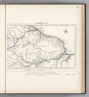 (Facsimile) Hartsinck - 1770. S Doc 91 55 2. 50. Caart van Guiana. Part of a Map of Guiana by J.J. Hartsinck, Amsterdam, 1770. Reproduced from Original (in his Beschrvving van Guiana, Amsterdam, 1770, Vo. I, p. I,) in Library of Congress, Washington, D.C. Photo. Lith. by A. Hoen & Co., Baltimore, MD.