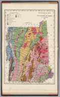 Text Page: Geological Map of New Hampshire and Vermont, By C.H. Hitchcock, 1877.