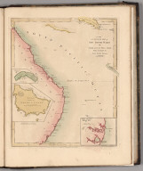 A New Accurate Map of New South Wales with Norfolk and Lord Howes Islands Port Jackson, &c.