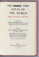 Title Page: The Times Atlas of the World, Mid-Century Edition
