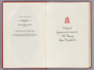 Dedication: Dedicated by Gracious Permission to Her Majesty Queen Elizabeth II