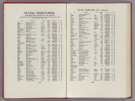 Text Page: States, Territories, and Principal Islands of the World