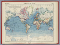 World Surface Routes, Plate 6, v.1