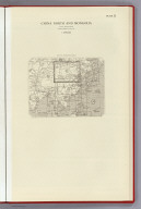 Index: China North and Mongolia, Plate 21, v.1