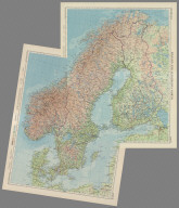 Composite: Scandinavia North and South, Plate 51, 52. V. III