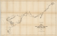 Map of the Western Division of the Fort Kearney South Pass and Honey Lake Road. Surveyed under the direction of John Kirk, Supdt. by F.A. Bishop, Engineer, 1857. Thos. S. Wagner's Lith. Philada. Dept. of the Interior, Pacific Wagon Roads.