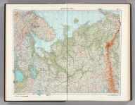 16-17. RSFSR (Russian Soviet Federated Socialist Republic) in Europe, North. The World Atlas.