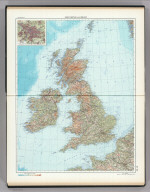 58-59. Great Britain and Ireland. The World Atlas.
