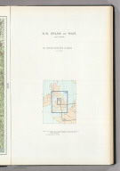 (Map Title Page) 61-62. England and Wales. 63. England, North-West and Middle.