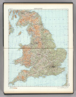 61-62. England and Wales. The World Atlas.