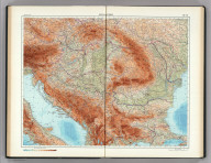 90-91. Danube Countries. The World Atlas.
