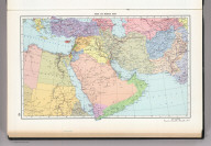 154. Near and Middle East, Political. The World Atlas.