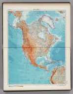176-177. North America, Physical. The World Atlas.