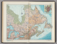 188-189. Canada, East. Montreal. The World Atlas.