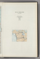 (Map Title Page) 191-192. Canada, West. 193. Los Angeles, San Francisco, Philadelphia, Boston, Chicago.