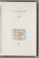 (Map Title Page) 194-195. United States of America. 196. New York, Washington.
