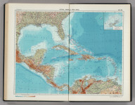 215-216. Central America and West Indies. Bermuda Islands. The World Atlas.