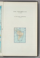(Map Title Page) 218-219. South America, Physical. 220. South America, Communications.