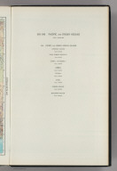 Map Title Page: 242-243. Pacific and Indian Oceans. 244. Pacific and Indian Oceans Islands.