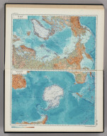 248-249. The Arctic, The Antarctic. The World Atlas.