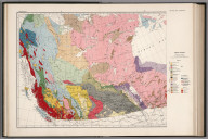 West sheet. Geological map of the Dominion of Canada