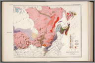 Eat sheet. Geological map of the Dominion of Canada