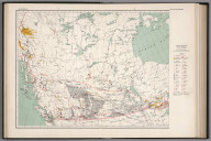 West sheet. Mineral map of the Dominion of Canada