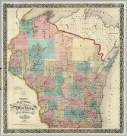 Sectional Map of Wisconsin