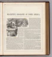 (Text Page) Descriptive Geography of North America.