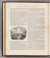 (Text Page) Descriptive Geography of North America (continued).
