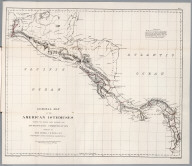 No.I. General map of the American Isthmuses