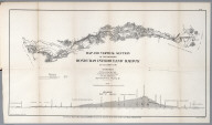 No.III. Map of vertical section of the proposed Honduras interoceanic railway