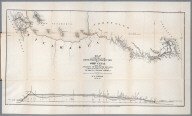 No.IV. Map and profile of the route from construction of a ship canal from the Atlantic to the Pacific oceans