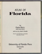 Title Page: Atlas of Florida