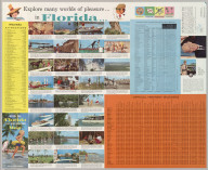 Verso: Official Road Map Florida The Sunshine State