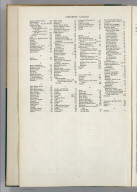 (Table of Contents to) Hammond's New World Atlas. Containing New and Complete Historical, Economic, Political and Physical Maps of the Entire World in Full Colors with Complete Indexes and the Races of Mankind, Illustrated Gazetteer of the World, Illustrated Gazetteer of the United States and Territories. Garden City Publishing Company, Inc. Garden City, N.Y., U.S.A. 1948.