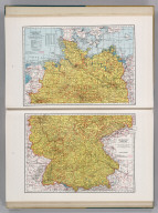 Germany (Northern Part). 5467. Germany (Southern Part). 9467.
