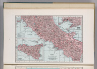 Italy (Central Southern Part). 2460. (inset) Sicily (Sicilia).