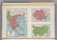Greece and Albania. 9334. Rumania. Bulgaria.