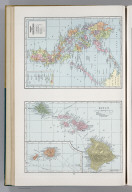 Hawaii. Republic of the Philippines. 7441. (insets are extensions of main map).