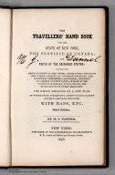 Title Page: The Traveller's Hand Book for the State of New York