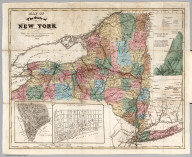 Map Of The State Of New York With the Latest Improvements