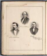 Portraits: A. McCleary. Lewis A. Riley. R. H. Moore.