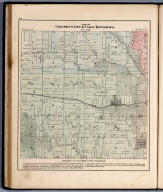 Parts of Columbus City & Union Townships, Louisa County, Iowa.