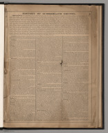 Text: History of Cumberland County.