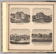 View: Eagle Mills. Residences of Saint Lawrence County, New York.