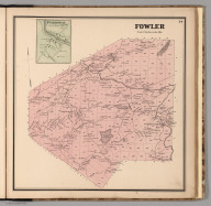 Fowler. Fullerville, Saint Lawrence County, New York.